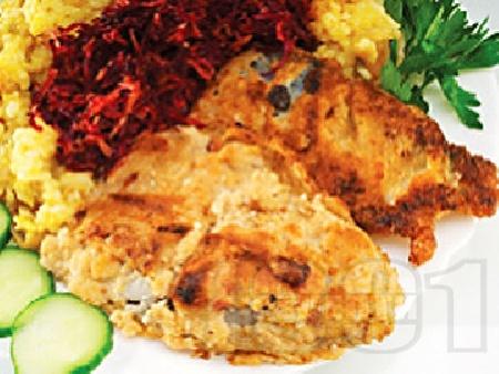 Панирано филе от бяла риба - снимка на рецептата